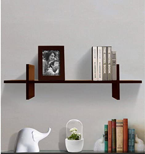 Shelving Solution H Shaped Wall Shelf Espresso