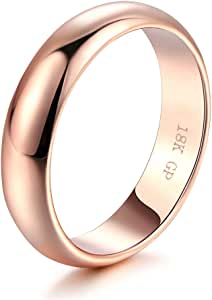 Hollywood Pro 6MM Tungsten Carbide Mens Plain Dome Polished Wedding Band Ring Size 4-16