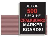 NEOPlex Student Laptop Chalkboard Marker Boards - Set of 500