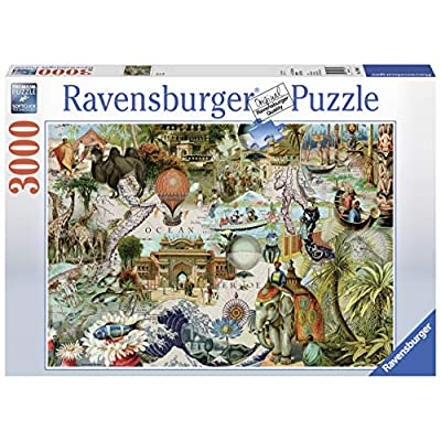 Ravensburger Oceania Jigsaw Puzzle 3000 Piece Jigsaw Puzzle for Adults – Softclick Technology Means Pieces Fit Together Perfectly: Varios: Toys & Games