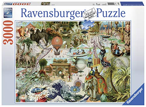Ravensburger Oceania Jigsaw Puzzle 3000 Piece Jigsaw Puzzle for Adults - Softclick Technology Means Pieces Fit Together Perfectly