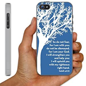 iPhone 5 Case - Christian Theme - Isaiah 41:10 - Clear Protective Hard Case