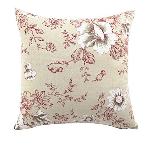 Rectangle Printed Slipover Pillowslip Pillowcase