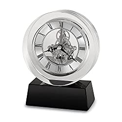 Fusion Crystal Table Clock