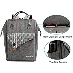 ef579422a Lekesky Laptop Backpack 15.6 Inch Stylish Computer Backpack School ...