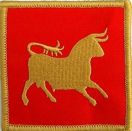 Amazon.com  IX Hispana Caesar s Legion Flag Patch Cosplay Roman ... b0c9e37e1286