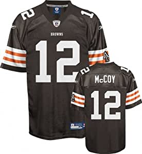 Reebok Cleveland Browns Colt McCoy Youth Replica White Jersey Large