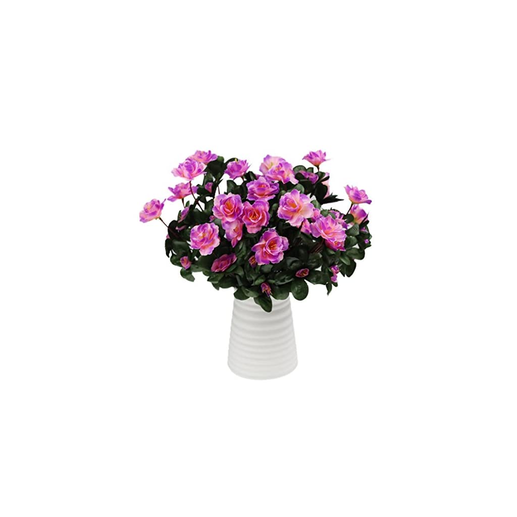 Inverlee-1Pcs-Artificial-Flowers-Azalea-Safflower-Floral-Fake-Flowers-Wedding-Bridal-Bouquet-DIY-Home-Garden-Decor-Purple