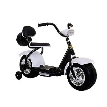 Amazon.com: Kiblcy - 4 ruedas para motocicleta, 6 V, batería ...