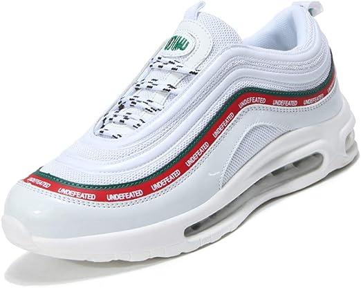 YSZDM Zapatos de Running de los Hombres, Zapatillas Antideslizante ...