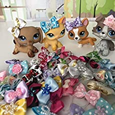 Amazoncom Littlest Pet Shop Lps Accessories Christmas Lot Reindeer