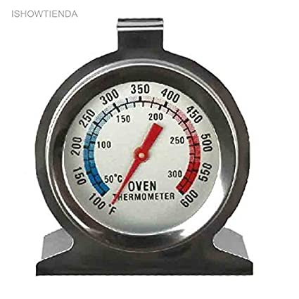 AMZVASO - Termometro - 2 Stainless Steel Home Food Meat Dial Oven Thermometer Temperature Gauge Termometro