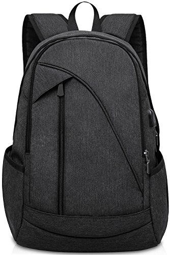 ibagbar Water Resistant Laptop Backpack with US...