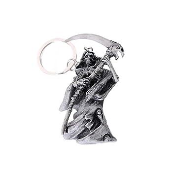 BESTOYARD Due-Home Llavero Esqueleto Llavero de Halloween ...