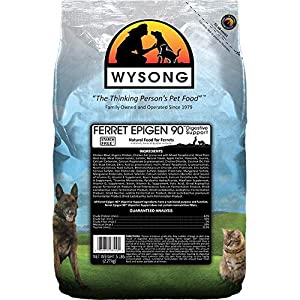 Wysong Ferret Epigen 90 Digestive Support - Starch Free Dry Natural Food for Ferrets 18