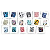 BEST OVERNIGHT DIAPER! 24 KaWaii Baby Goodnight Heavy Wetter OS Cloth Diapers + 48 Large Inserts