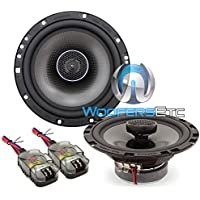 Memphis Audio 15-MCX620 Oversized 6.5 2-Way Car Coaxial Speakers (15MCX620)