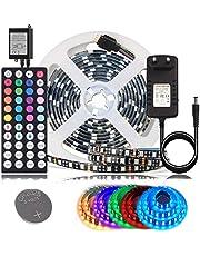 BIHRTC Schwarz LED Licht Streifen Kit
