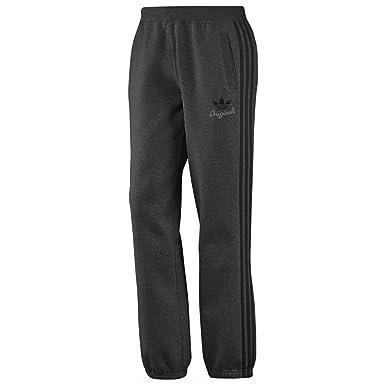 Adidas Originals TPO Trefoil Mens Grey Fleece Training Joggers Tracksuit  Bottoms (Medium 968f44c51