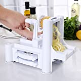 Baynne Vegetable Slicer, Strongest and Heaviest Duty,Best Veggie Pasta Spaghetti Maker for Low Carb/Paleo/Gluten-Free Meals