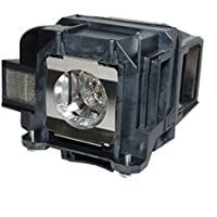 AuraBeam Economy Epson ELPLP78 Projector Replacement Lamp with Housing
