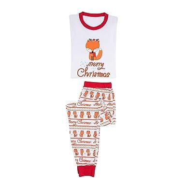 ca2af0b48d087 MEIHAOWEI Xmas Famille Matching Pyjamas Adulte Femmes Maman Papa Enfants  Bébé Vêtements De Nuit Vêtements De