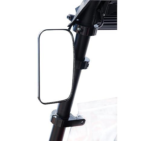 Amazon.com: Tusk Deluxe Rectangle UTV Mirror Kit - Fits: Polaris RANGER RZR XP TURBO FOX Edit. 2018: Automotive