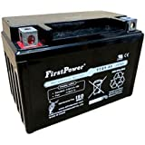 FirstPower 12v 9ah Upgrade Battery for Motorcycle Scooter YTX9-BS MG9-BS