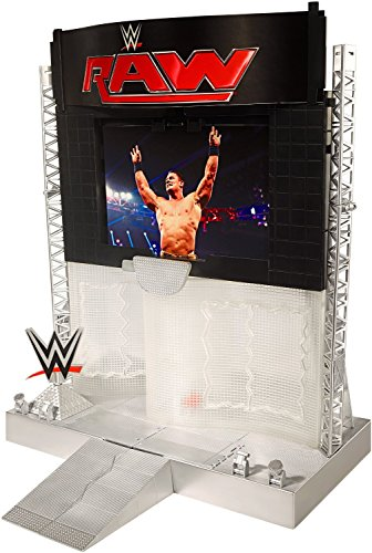 WWE Electronic Ultimate Entrance Stage Playset (Discontinued by manufacturer) by Mattel