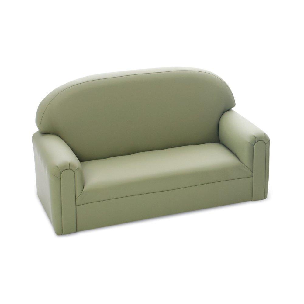 Brand New World Furniture FI2S100 Brand New World Toddler Enviro-Child Upholstery Sofa, Sage