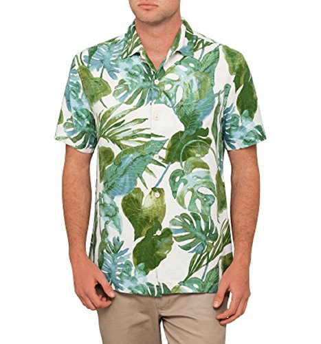 Cheap Tommy Bahama Villa Fronds Silk Camp Shirt