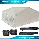 20'x20' Heavy Duty Wedding Party Tent Canopy Carport W
