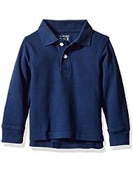 The Children's Place Boys' Long Sleeve Polo Shirt