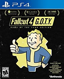 Amazon com: Fallout 4 Game of The Year Edition - PlayStation 4