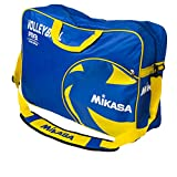 Volleyball Carrying Bag by Mikasa Sports - Holds 6 Balls, Blue/Yellow by Mikasa Sports