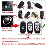 M.JVisun Key Covers for Ford Car Remote Key, Key