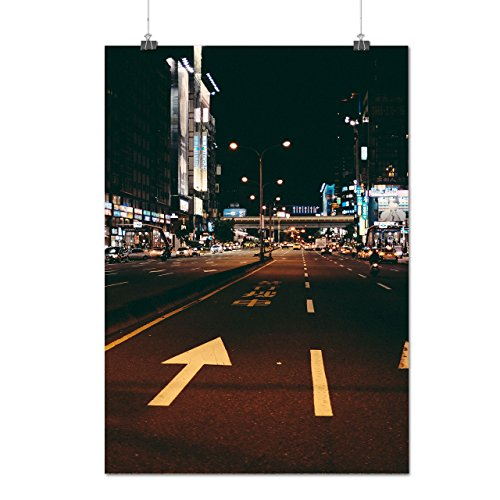 Buy cheap asian city life town nightlife matte glossy poster 12x17 inches wellcoda