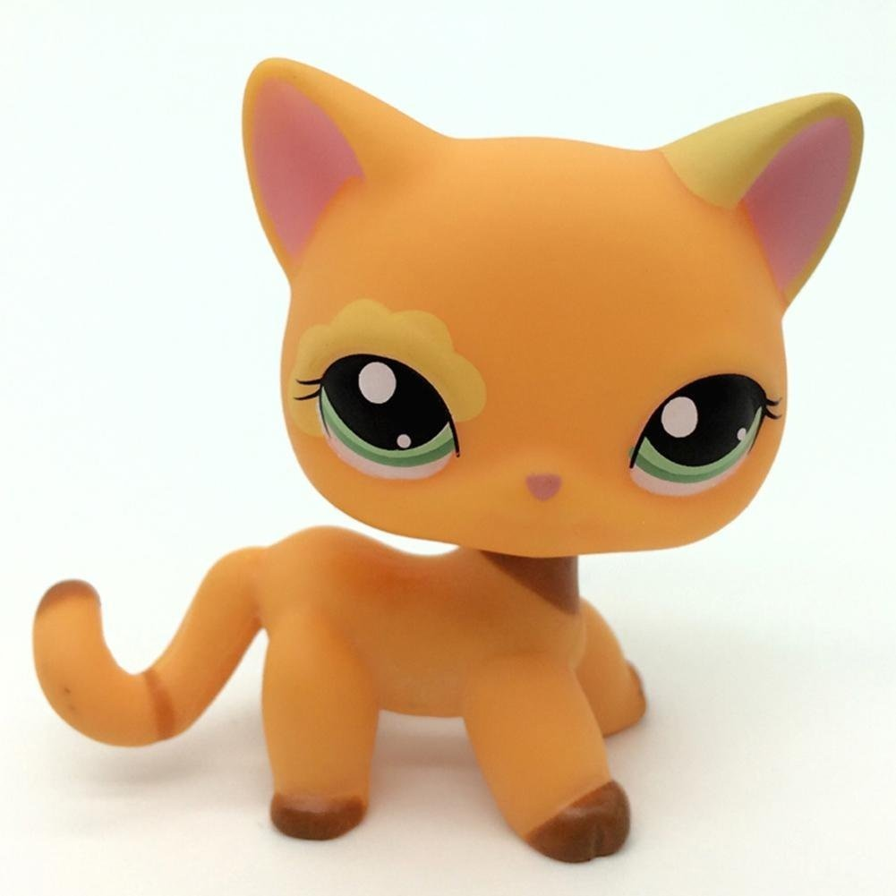 1pc Pet shop LPS toys action figure toys Cartoon Animal Cat dog Figures Collection for Kids Gift SmileFly