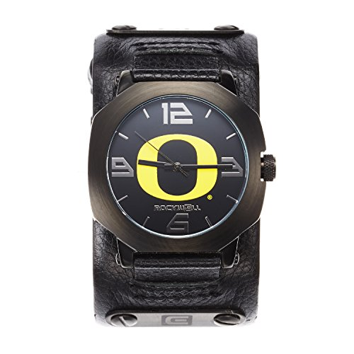Rockwell NCAA Oregon Ducks Men's Assassin Watch, Adjustable, Black (Watches Oregon College Ducks)