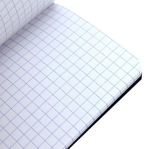 Pack of 3 Rhodia Side Staplebound Pocket Notebook Black and White 3 X 4.75 Orange