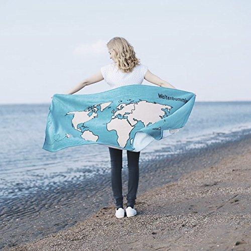 Weltenbummler Handtuch