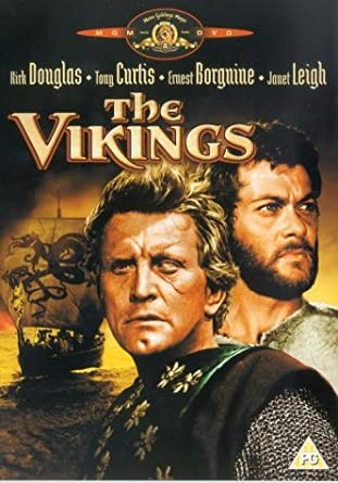 Image result for douglas and curtis in the vikings