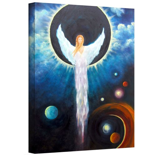 Art Wall Angel of The Eclipse Gallery Wrapped Canvas