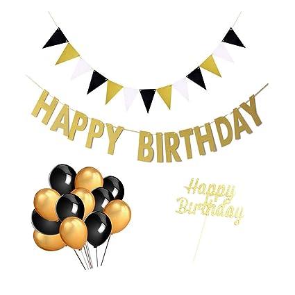 Pancarta de cumpleaños para fiesta, diseño de globo con ...