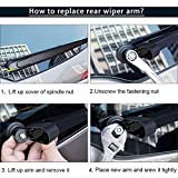 Rear Windshield Wiper Arm Blade, for Ford