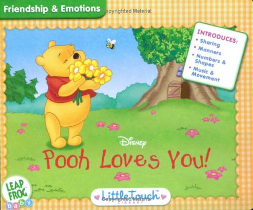 Leap Frog Baby - Little Touch LeapPad - Disney - Winnie the Pooh Loves You by LeapFrog (Image #1)