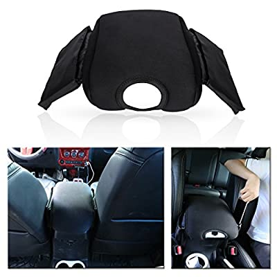 Neoprene Center Console Armrest Pad Cover with Storage Bag For Jeep Wrangler JK JKU Sahara Sport Rubicon x Unlimited 2011-2020: Automotive