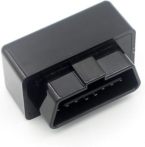 LoongGate Mini OBD II T10mm Adaptador de 16 Pines J1962 con Cierre Conector Macho para Conector OBD2