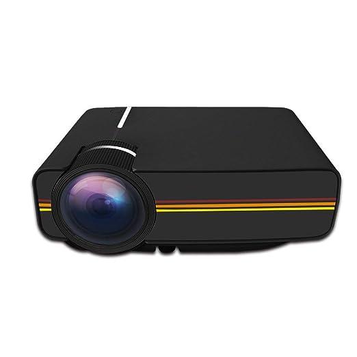Dsqcai Mini Proyector Portátil Compatible con USB VGA HDMI AV ...