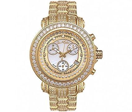 Joe Rodeo Diamant Herren Uhr Rio Gold 9 5 Ctw Amazon De Uhren